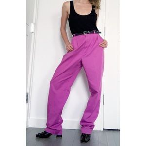 Vintage Straight Leg Trousers